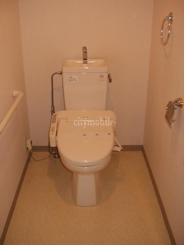 ヒルサイド城山>トイレ