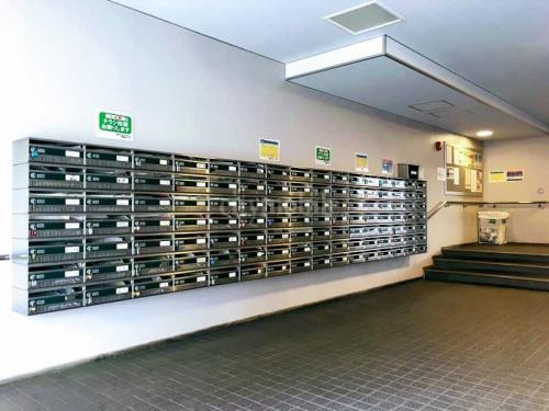 トミンハイム古石場一丁目>メールボックス