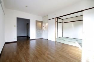 キッチン>洋室