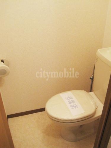シティハイムスバル>トイレ