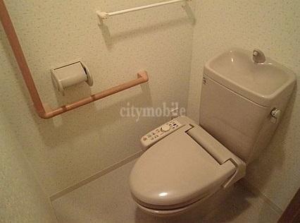 クロシェットガーデン>トイレ