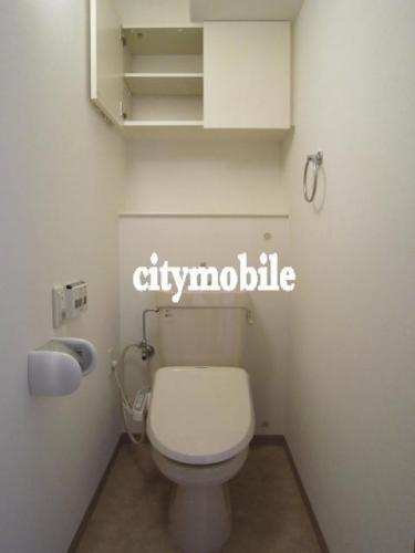 河田町コンフォガーデン>トイレ