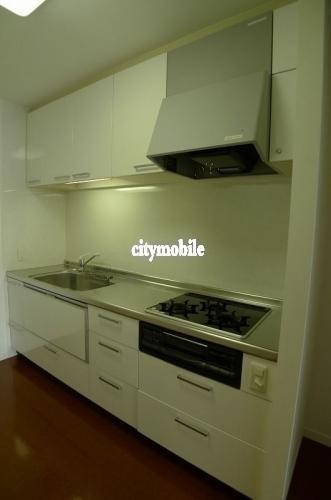 シャレール広尾>システムキッチン