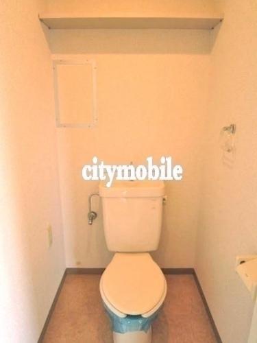アクシス東四つ木 >トイレ
