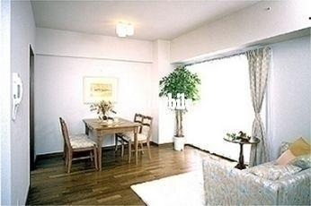 コーポレート竹の塚二丁目>リビング