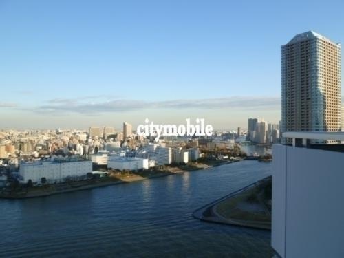 リバーシティ21新川>眺望