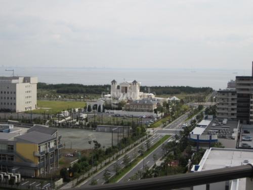 浦安マリナイースト21 海園の街 >眺望