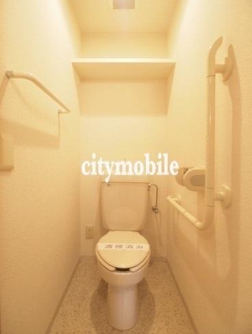 ラベンダーコート白金南>トイレ