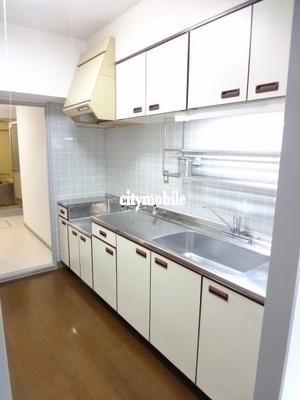 トミンハイム東陽六丁目>キッチン