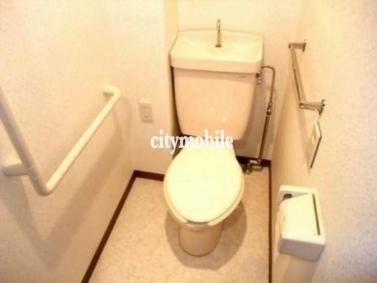 ヴィレッジイン芦花>トイレ